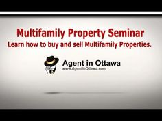 Ottawa Multifamily Properties Seminar.