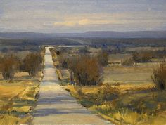 Kim Casebeer - White Road- Oil - Painting entry - March 2012 | BoldBrush Painting Competition
