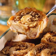 Spiral Apple Dumplings - These are not your typical dumplings. They look like cinnamon rolls, but they're really pastry wrapped around a shredded apple filling