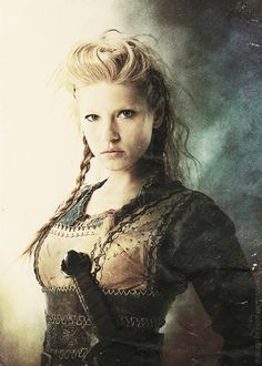"""Her role was to fight alongside the men in a shield wall and her specific role was to plug up the holes in battle when the Vikings were falling. And I play, also, a young mother and a loving wife who has a true partnership and equal relationship with her husband. She's a very strong woman. She's definitely modern for her time.""     Katheryn Winnick on playing Lagertha"