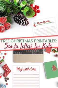 It's your last chance to share your wishlist with Santa! This printable planner for kids has a few pages to help inspire you to get into the holiday spirit! Printable Letters, Printable Planner, Free Printables, Christmas Activities, Christmas Fun, Kids Planner, Best Holiday Cookies, Sweetest Day, Santa Letter
