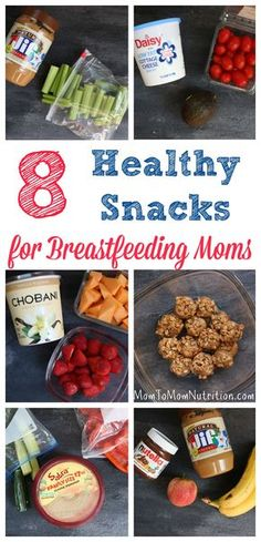 A list of healthy snacks for breastfeeding moms that help to keep mom's nutrition and energy at an all-time high no matter what time of day she's nursing! Make no mistake about it, I have a love-hate relationship with breastfeeding [you can read my beef here]. I'm amazed at how one of the most natural …