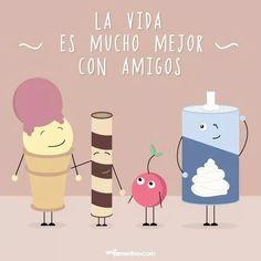 Amigos / vida