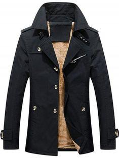 Automne Hiver Marque Hommes Veste /Épais Velours Hommes Manteau dhiver Faux Cuir Chaqueta Hombre Coupe-Vent Abrigo Hombre