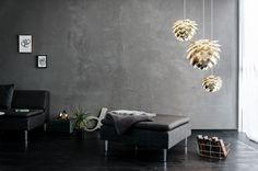 Prachtige lampen van VITA Copenhagen. Een echte eye-catcher voor in de woonkamer!