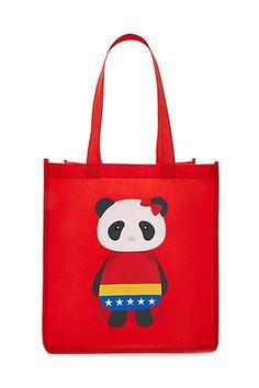 Panda Graphic Tote Bag