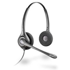 Plantronics HW261N Supraplus Wideband Binaural Noise Cancelling - it may look simple, but that is beauty in itself