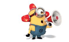 Minion Fireman HD Wallpaper