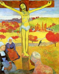 Paul Gauguin The Yellow Christ painting is shipped worldwide,including stretched canvas and framed art.This Paul Gauguin The Yellow Christ painting is available at custom size. Art Gallery, Post Impressionism, Eugène Henri Paul Gauguin, Fine Art, Van Gogh, Art Reproductions, Painting, Art History, Paul Gauguin