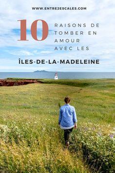 Bien sûr, il existe mille et unes raisons de tomber amoureux des Îles-de-la-Madeleine. Voici mes 10 raisons à moi pour visiter cette région du Québec. Montreal Quebec, Before I Die, Canada Travel, East Coast, Places To Visit, Island, Vacation, Mille, Voici