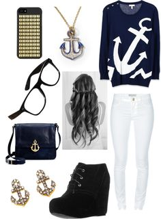 """anchor"" by icisdec ❤ liked on Polyvore"