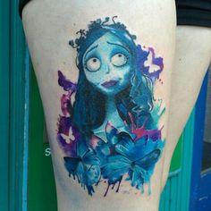 Corpse Bride tat
