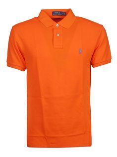 Ralph Lauren Chest Logo Polo Shirt In Orange Camisa Polo, Business Casual Men, Men Casual, Ralph Lauren Shop, Ralph Laurent, Dior Perfume, Golf T Shirts, Clothes Pictures, Men Dress