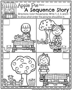 How To Circumvent IP Possession Concerns Every Time A Strategic Alliance, Three Way Partnership Or Collaboration Fails Fall Preschool Worksheets - Apple Pie Sequence Story. Fall Preschool Activities, Preschool Programs, Apple Activities, Preschool Math, Preschool Worksheets, Kindergarten Activities, Steam Activities, Story Sequencing Worksheets, Sequencing Activities
