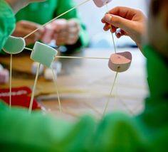 Bouwen met je eten - Ontdek thuis de wereld om je heen - Science Center NEMO