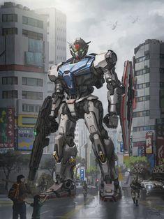 Live action Gundam, Stuart Ng on ArtStation at… Arte Gundam, Gundam 00, Gundam Head, Gundam Wing, Mecha Suit, Gundam Wallpapers, Robot Concept Art, Custom Gundam, Mecha Anime