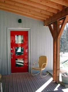 Skiles Architecture Exterior Cladding, National Forest, Arkansas, Home And Family, Shed, Outdoor Structures, Colours, Spaces, Paint