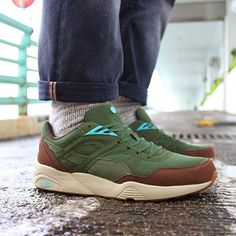 From the streets of Paris, Le BlackRainbow x PUMA R698 pack hits the ground in Taiwan and Hong Kong #PUMA #blackrainbow #sneakers #shoes #taiwan #hongkong #collab #style #fashion
