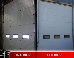 Here's a recent steel insulated commercial door we installed for a local business. While we may be on lockdown, we're still available to upgrade your commercial doors with something new. Garage Doors For Sale, Commercial Garage Doors, Shutters, Interior And Exterior, Steel, Business, Outdoor Decor, Home Decor, House Blinds