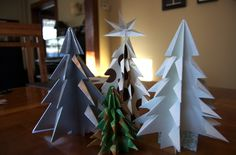 Kirigami Christmas Trees