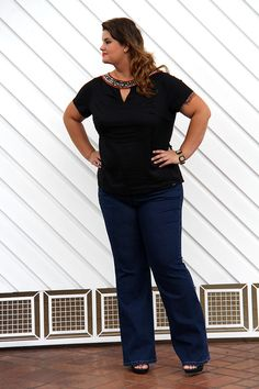 Plus Size Outfit www.grandesmulheres.com.br