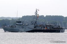 German navy minesweeper FGS ROTTWEIL (M 1061)
