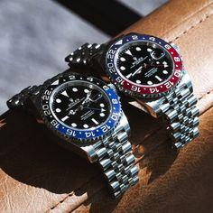 Instagram Modern Watches, Luxury Watches For Men, Cool Watches, Rolex Watches, Wrist Watches, Vintage Rolex, Vintage Watches, Rolex Gmt Master 2, Mens Wardrobe Essentials