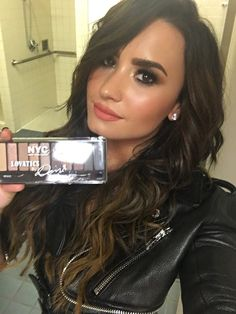 Demi Lovato (I have this palette, it's amazing!!!!)