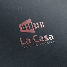 La Casa Ilusion Apartment Project Logo Design by M3kdesign