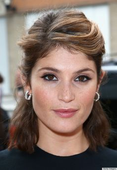Gemma Arterton really knows a good cat-eye -- and can we just talk about her glow?