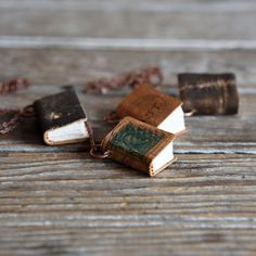 Thursday 'One of a Kind' by Peg and Awl. Book necklaces, desk caddies, merry mishaps... SALE thru Labor Day!