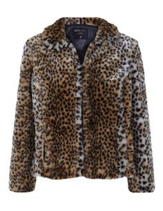 suiteblanco chaqueta pelo leopardo