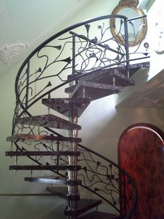 1000 images about art nouveau art deco jugendstil on pinterest art nouveau wrought iron - Railing trap ontwerp ...