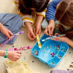 LEGO DOTS Bracelet Mega Pack DIY Creative Craft Bracelet-Making Kit For Kids 41913 : Target Creative Play, Creative Crafts, Cute Friendship Bracelets, Buy Lego, Mega Pack, Custom Lego, Great Birthday Gifts, Kits For Kids, Lego Duplo
