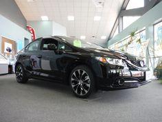 2013 HONDA CIVIC SI SEDAN W/ 201 HP (Crystal Black Pearl)  I think I've settled on what my new car will be :)