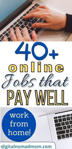 This list of 40+ stay at home jobs can allow you the opportunity and freedom to work from the comfort of your own home, or anywhere around the world! If you're tired of heading into an office every day, one of these jobs/businesses may be for you!