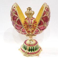 Fabergé Egg Red