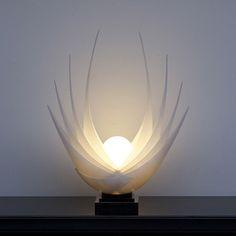 Rougier Lamp, 1980s.