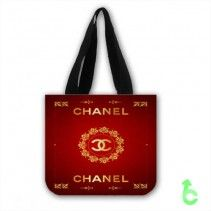 Chanel Elegant Gold Maroon Surface Tote Bags