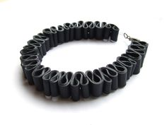Recycled Bracelets   ... :: Jewellery & Accessories :: bicycle inner tube recycled bracelet