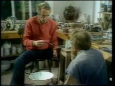 BBC The Craft of the Potter Decoration part2. Alan Caiger-Smith with M. Casson
