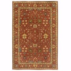 Home Decorators Collection Dijon Terracotta 8 ft. x 11 ft. Area Rug-0110540890 at The Home Depot $639