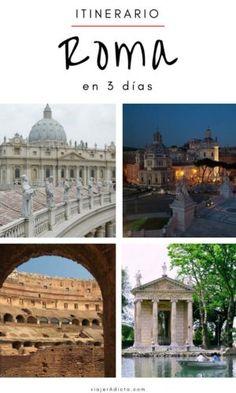 Itinerario Roma 3 dias Budapest, Travel Tips, Travel Stuff, Rome, Taj Mahal, World, Building, Instagram, Bon Voyage