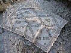 Nice print .... Sheepskin Rug, Olympus Digital Camera, Crafty, Quilts, Blanket, Rugs, Nice, Products, Farmhouse Rugs