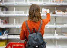 9 Etiquette Rules for Grocery Shopping During the PandemicGood behavior in the grocery store matters more than ever. Here's how to be a more considerate shopper. AND WEAR A MASK! Make A Grocery List, Grocery Store, Wic Program, Cooking Pork Chops, Loin Chops, Two Store, How To Cook Pork, Nutrition Program, Woman Standing