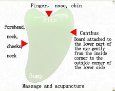 Buy Natural jades Gua Sha Guasha Beauty Massage Tool Health Physiotherapy at Wish - Shopping Made Fun Massage Facial, Massage Shiatsu, Massage Tools, Massage Therapy, Face Massage Tool, Facial Treatment, Skin Treatments, Gua Sha Massage, Gua Sha Facial