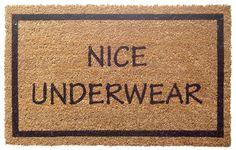 Nice Underwear Fußmatte