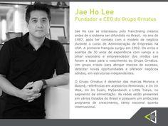 A personalidade homenageada nesta edição do Conexão Empresarial, será o empresário Jae Ho Lee, fundador e CEO do Grupo Ornatos, inovador em seus negócios e detector de grandes projetos. Vale a pena conferir sua trajetória !