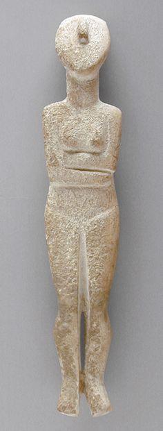 Mainland Greece, Cycladic, 2500-2400 B.C. - Marble