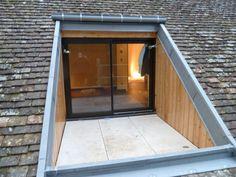 terrasse dans toiture                                                       …: